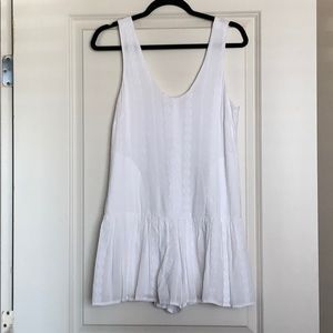BCBGeneration White Romper